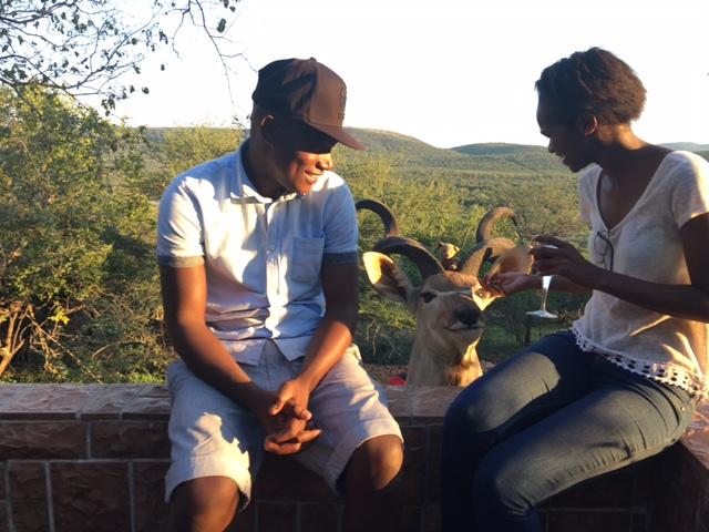 near Thabazimbi at an Afrikaner holiday home...